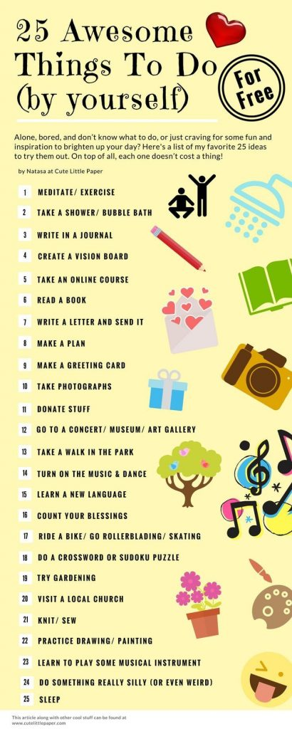25 Awesome Things To Do